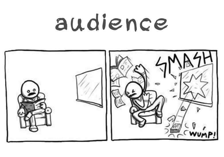 Snapshot 1 of Distraction Marketing - Audience