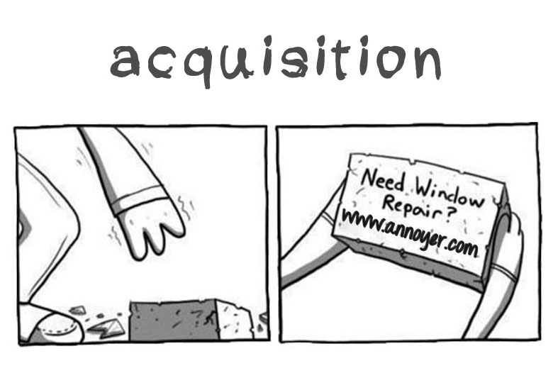 Snapshot 2 of Distraction Marketing - Acquisition