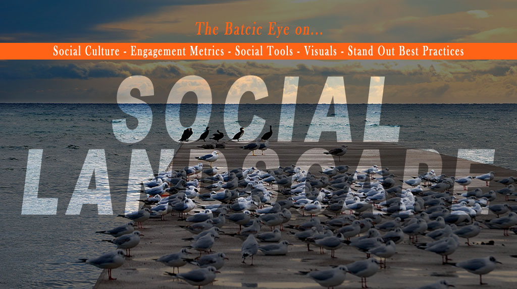 A cover of my The Social Landscape Google Plus Collection