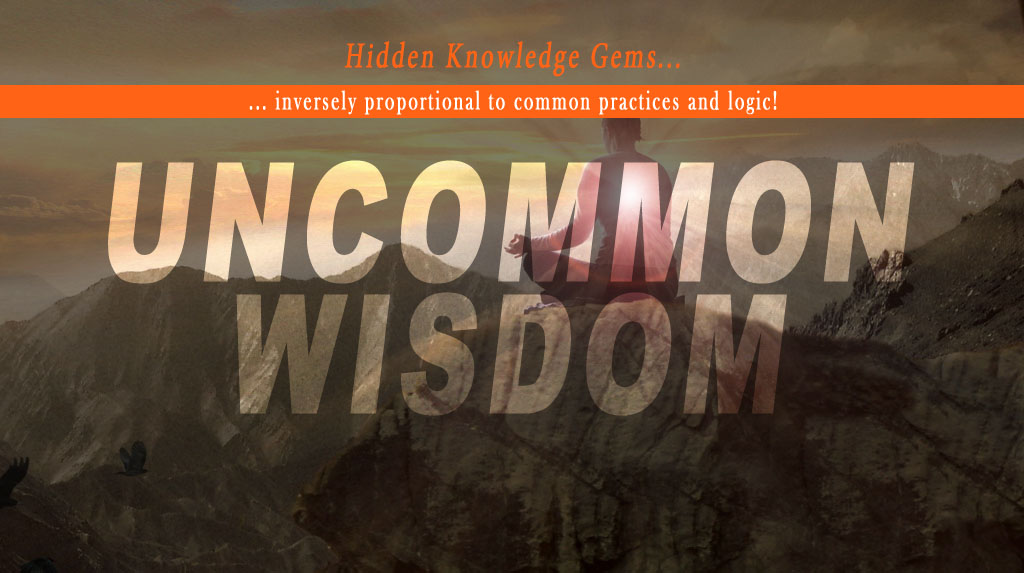 A cover of my Uncommon Wisdom Google Plus Collection